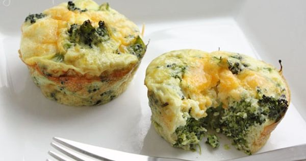 Broccoli and cheese, Omelet and Weight watcher recipes on Pinterest