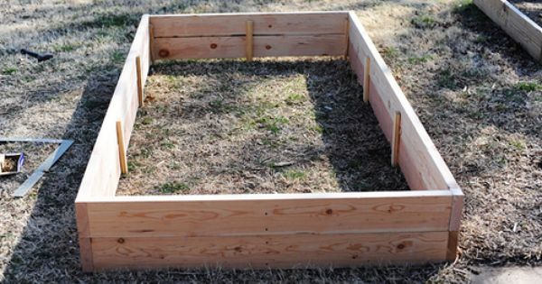Build Your Own Raised Flower Vegetable Bed Pioneer Woman Gardens And Flower