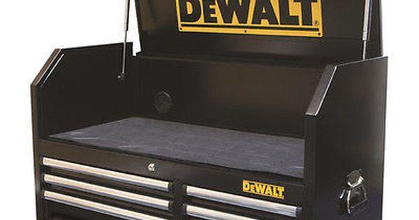 Dewalt 40 500 Lb Capacity 5 Drawer Top Chest Metal Storage Dwmt74433 New Dewalt Metal Tool Box Tool Boxes For Sale