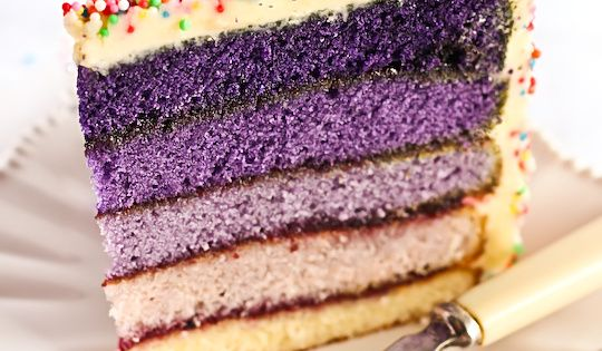 Ombre Cake recipe and how-to.