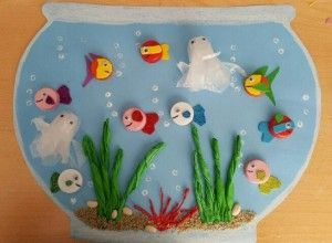 Aquarium Craft Idea For Kids Fish Crafts Preschool Preschool