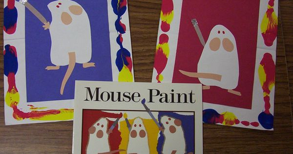 Mouse Paint Artwork