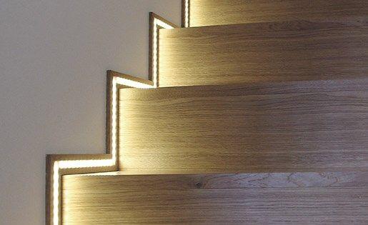 http foxled fr 29 ruban led standard un ruban led pour souligner l escalier astuce d 233 co 224