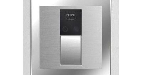 Toto Sensor Toilet Flush Valve Back Spud Wall Wall Installation