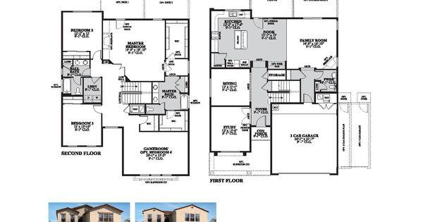 DR Horton Pike II Floor Plan Via Www.nmhometeam.com