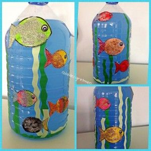 Bottle Aquarium Craft Idea For Kids 1 Aquarium Craft Toddler
