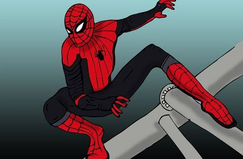 How To Draw Spider Man In Simple Steps كيف نرسم سبايدر مان Youtube Spiderman Cool Drawings Drawings