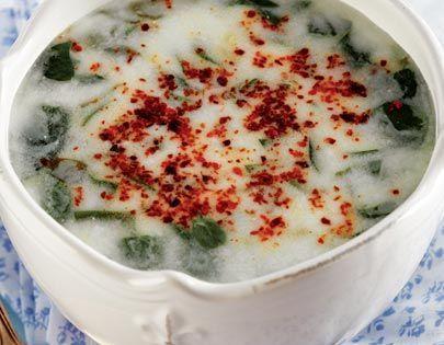 Soguk Semizotu Corbasi Tarifi Turk Mutfagi Yemekleri Yemek Tarifleri Einfache Gerichte Rezepte Suppenrezepte