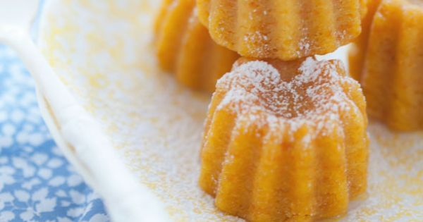 Glazed Sour Orange and Coconut Pudding Cakes | Afternoon ...