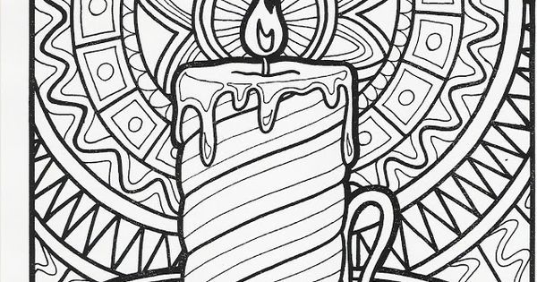 Candle From Let S Doodle Education Art Activities