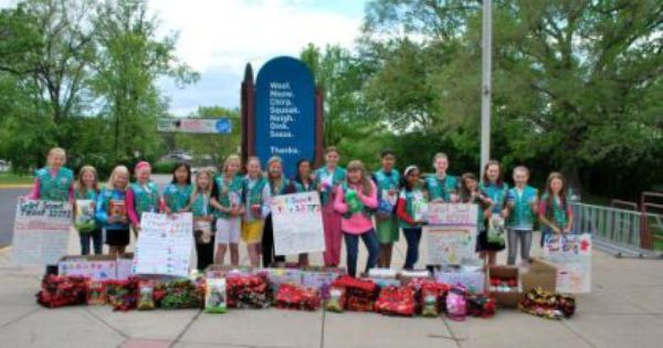 Earlier This Month Girl Scout Juniors In Troop 12771 Of Plymouth