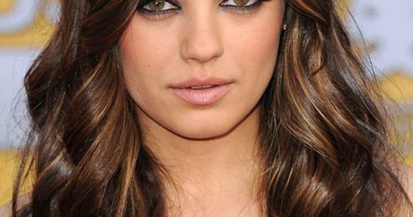 Mila Kunis w/Brunette Ombre Hair