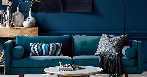 D coration int rieure salon living room couleur color - Decoration living couleurs ...