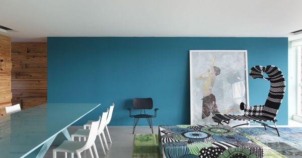 wohnzimmer streichen mit wandfarbe blau Wohnung Pinterest Wands