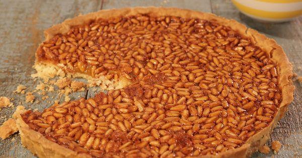 Honey and Pine Nut Tart | Recipe | Tarts, Pine and Mario Batali