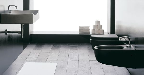 Sanitari bagno sospesi tizi neri disponibili anche in colorazione classica bianca http www - Sanitari bagno sospesi neri ...