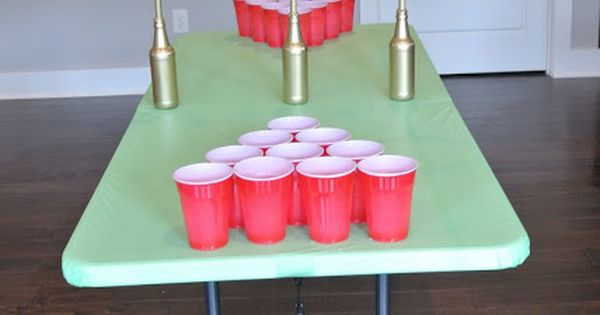 Easy diy quidditch game table quidditch can be played as for Table quidditch