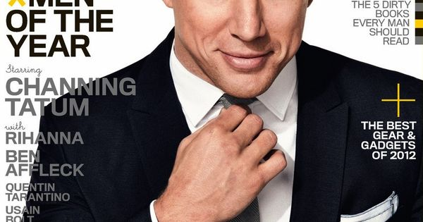 Channing Tatum GQ Men of the year Movie Star of the Year
