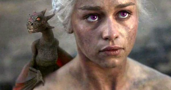 "Daenerys Targaryen would have purple eyes. | If ""Games Of Thrones"" Characters"