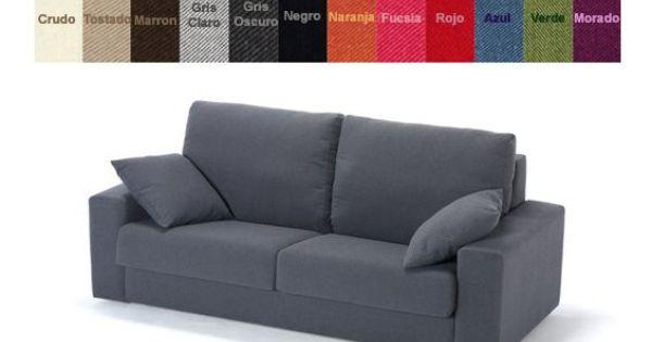 Sof cama dos plazas con colch n de 140cm x 200cm varios for Futon cama dos plazas