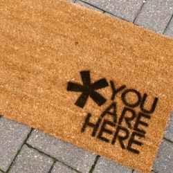 Pin By Debby Walsh On On The List To Make Welcome Mats Home Crafts Decor