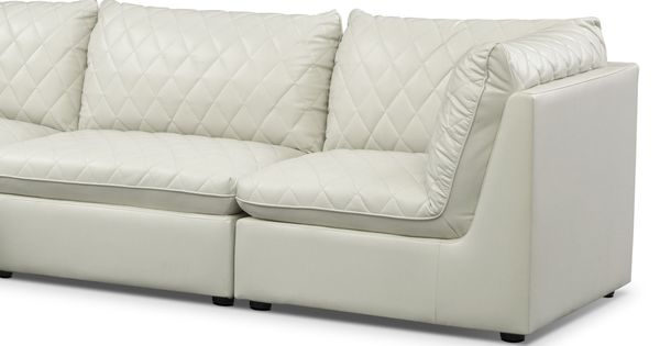 Fashionable Warmth The Coco Mist Sectional S Low Profile Design Is Right On Trend And Narrow