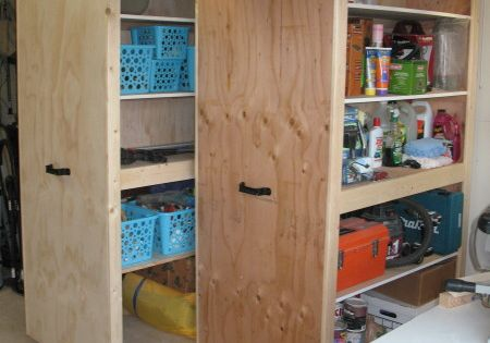 Mobile Garage Storage Cabinets From The Kreg Owners