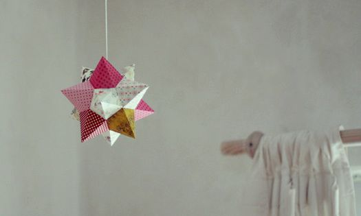 diy paperstar