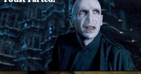 Nothing better than a good fart joke, Harry Potter style