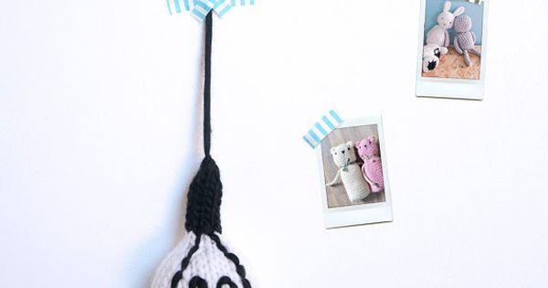 L ampoule suspendue d coration murale mod le patron for Ampoule suspendue