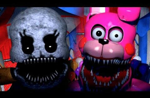 Bon Bon Go Get Him Baby S Nightmare Circus Part 2 Youtube Nightmare Fnaf Bon Bons