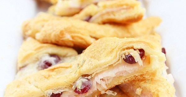 High Heels & Grills: Turkey Cranberry Appetizers perfect for thanksgiving leftover dish