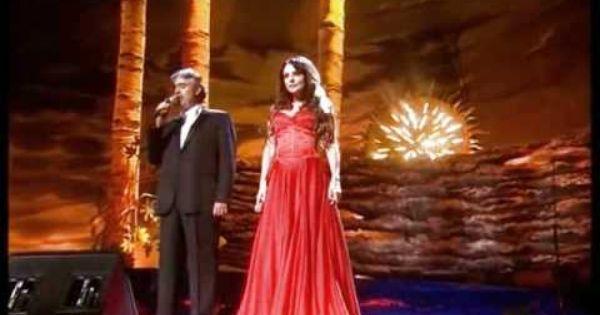 Canto De La Terra Andrea Bocelli Y Sarah Brightman Sarah