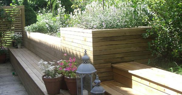 Hagdesign benk trapp skr ning frodig 665 886 jardin pinterest terrasses - Terrasse jardin pinterest strasbourg ...