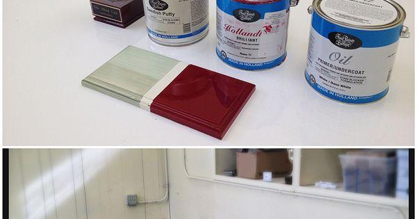 White painted floors epoxy always works better on floors for High traffic flooring ideas