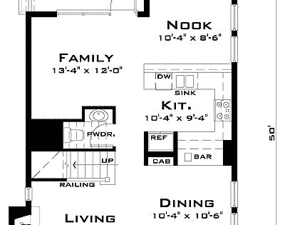 Plan 44037td award winning narrow lot house plan narrow for Award winning narrow lot house plans