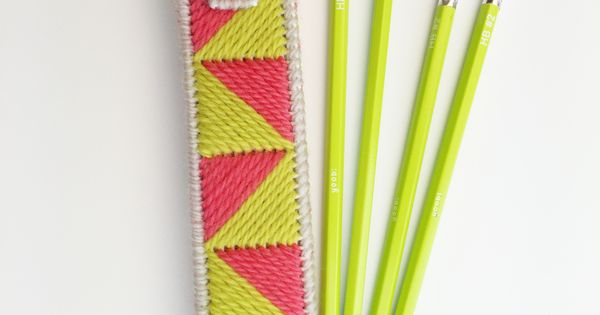 back to school pencil case free plastic canvas pattern