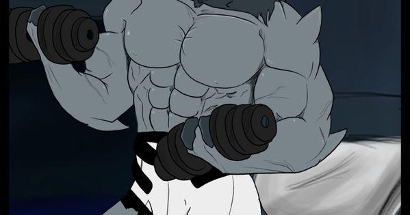 lg36 by Lonzo1 on DeviantArt  Ben Muscle Growth