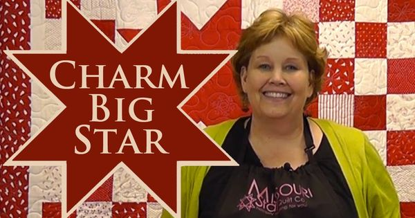 Charm Big Star Quilt Quilting With Charm Packs Another