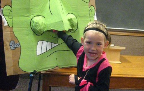 Kindergarten Halloween Games