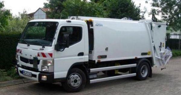 Ntm K Midi 6m3 Fuso Canter 8 5t Ntm K Mini Male Smieciarki Small Refuse Truck Klein Kommunalfahrzeuge Benne A Ordures Recolectores Garbage Truck Trucks Van
