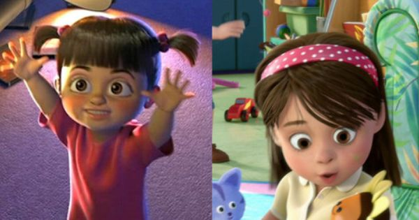 All Grown Up Toys : Monsters inc boo grown up in toy story celebs