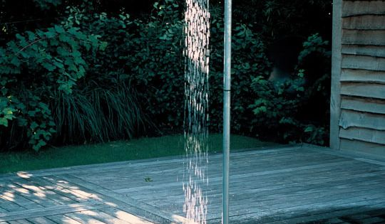 This can be the shower right next to my pool. or better