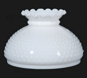 Milk White Glass Hobnail 10 Student Lamp Shade Globe Lighting Replacement Lampshade For Contemporary V Milk Glass Decor Glass Lamp Shade Hobnail Milk Glass