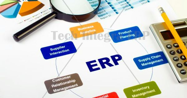 Enterprise Resource Planning Erp System Integrates Areas Such As Planning Purchasing Inventory Sales Marketing Finance And Erp System Solutions Software