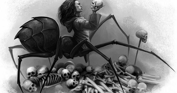 Artsy Fartsy Dark Souls Ii Concept Art: The INUIT MYTHOLOGY PROJECT, Art By Eva Widermann