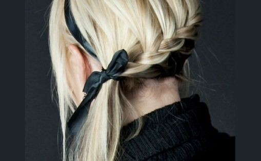 For when i have long hair again... Lower french braid, using a