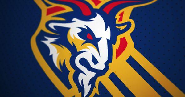 Las Cabras Fantasy Football Logo Fantasy Football Logos Sports