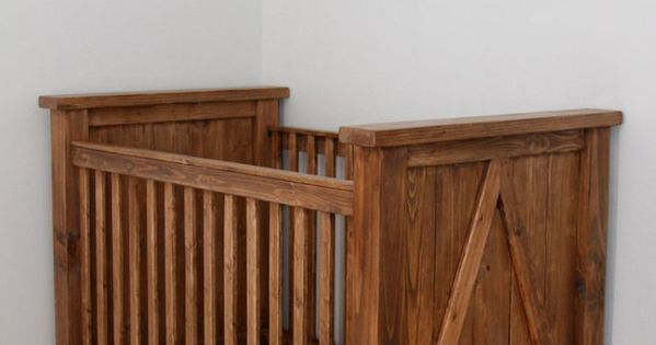 Ana White Build A Diy Farmhouse Crib Featuring Diystinctly Made Free And Easy Diy Project