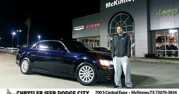 Thank You To Deandray Mcdaniel On Your New 2012 Chrysler 300 From Lyon Alizna And Everyone At Dodge City Of Mckinney Newcar Dodge City Dodge Dodge Chrysler